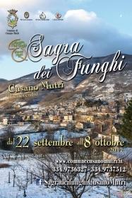 Sagra dei Funghi 2017: dal 22 Settembre all'8 Ottobre